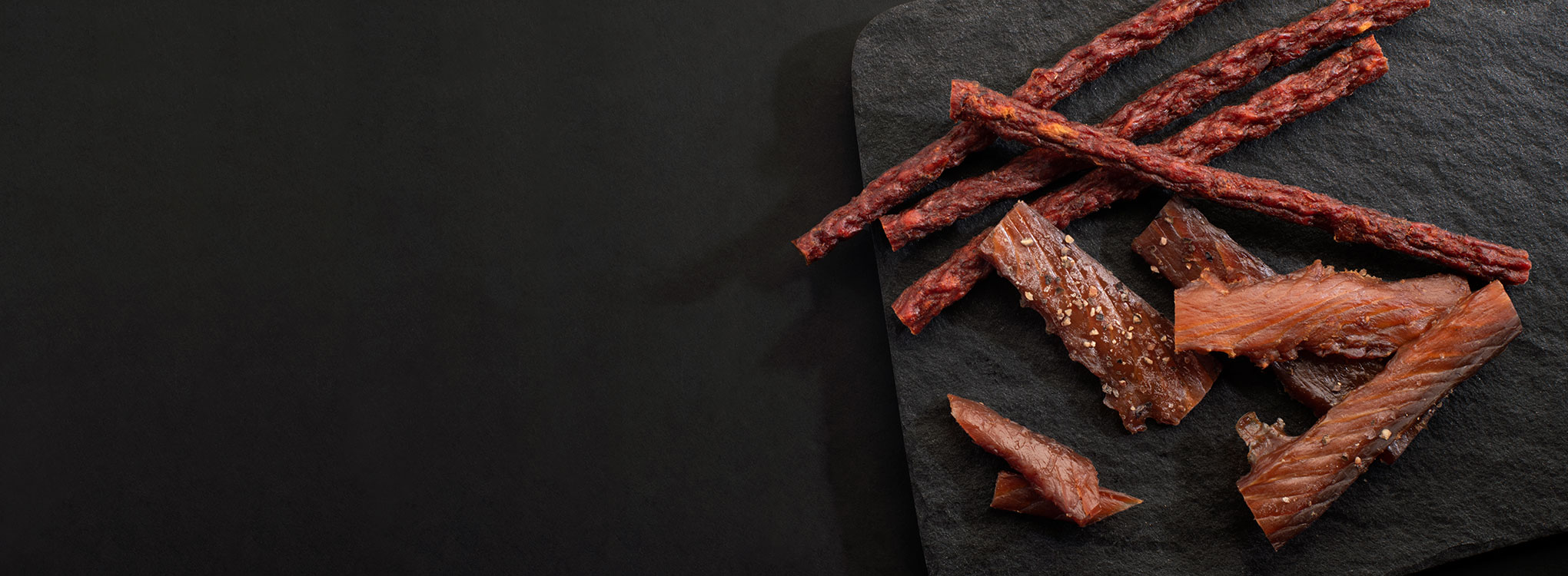 WILD SALMON JERKY & PEPPERONI